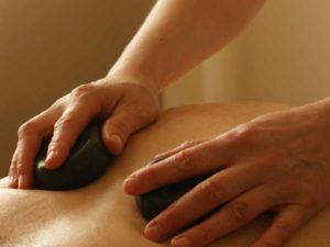 Hot Stone Massage helps with stress and anxiety