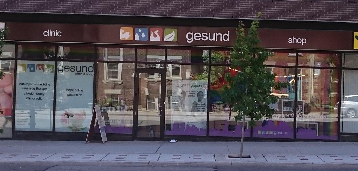 Health And Wellness Clinic & Shop Toronto   Gesund